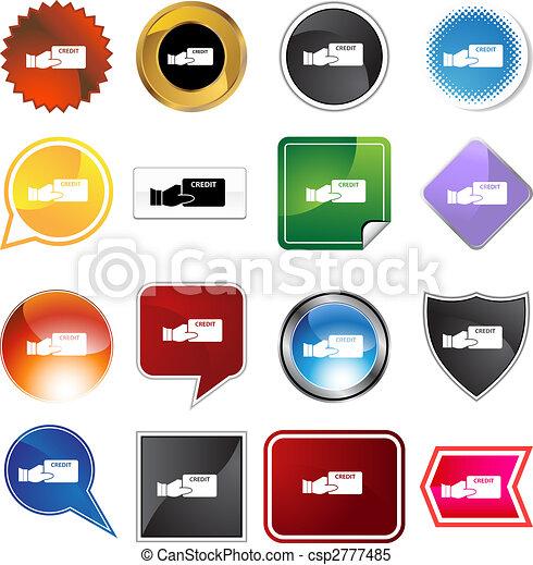 Credit Card Variety Set - csp2777485