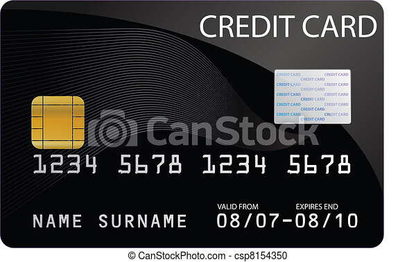 Credit Card - csp8154350
