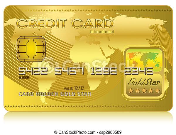 Credit Card (Vector) - csp2980589