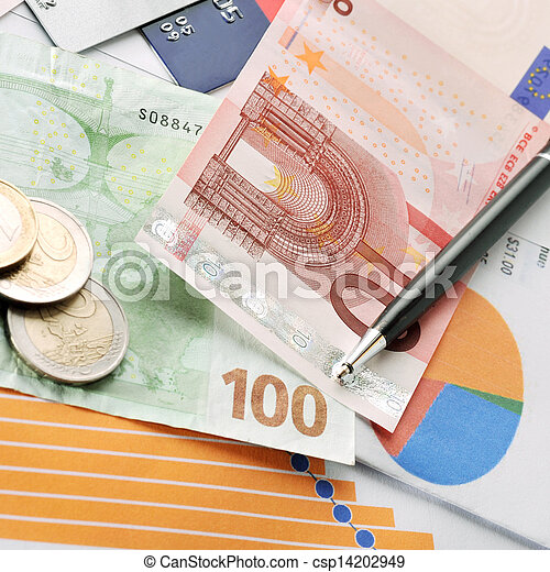 Credit cards and money - csp14202949