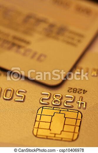 Credit cards - csp10406978