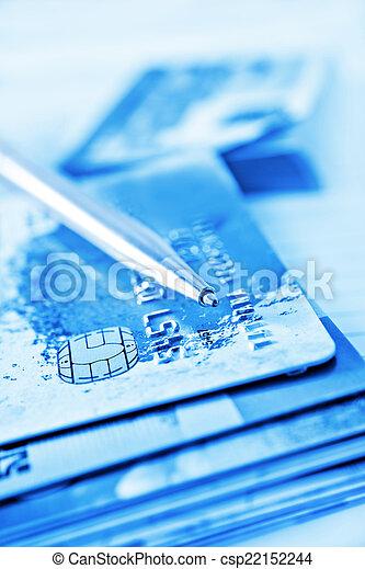 credit cards - csp22152244