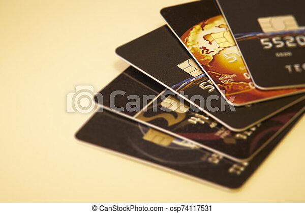 Credit cards - csp74117531