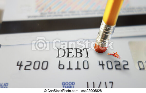 Credit debt - csp23906828