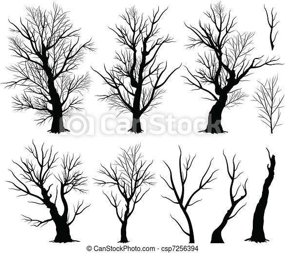 Creepy tree - csp7256394