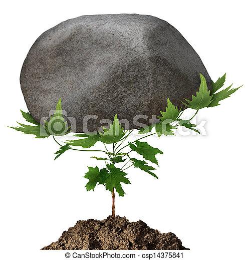 crescita, potente - csp14375841