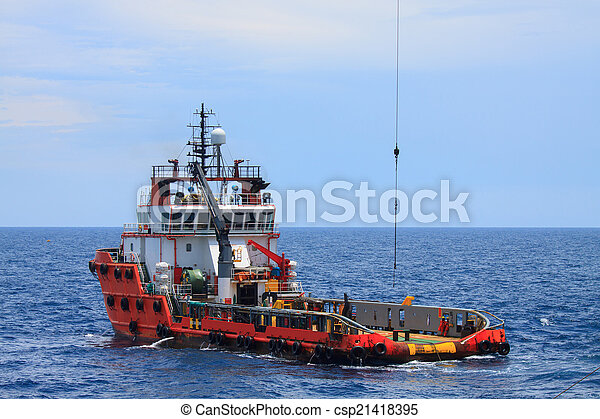 Crew and Supply Vessel offshore  - csp21418395