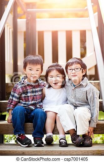 crianças, asiático - csp7001405