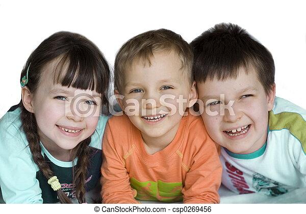 crianças - csp0269456