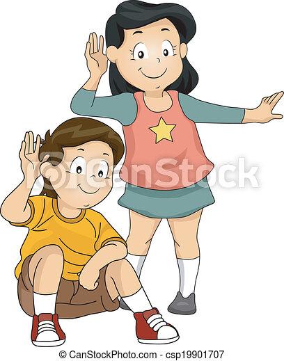 crianças, escutar - csp19901707
