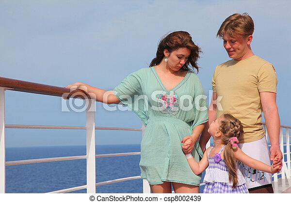 crianças, iate, lazer, família, mar - csp8002439