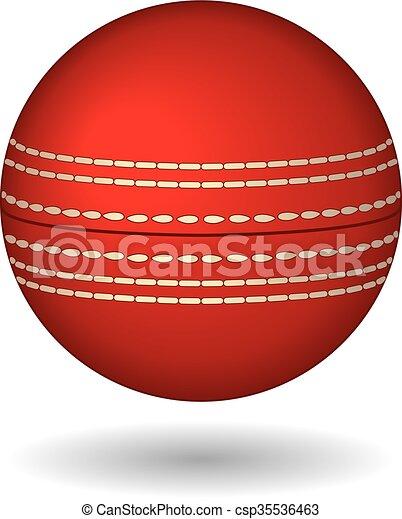 Cricket ball - csp35536463