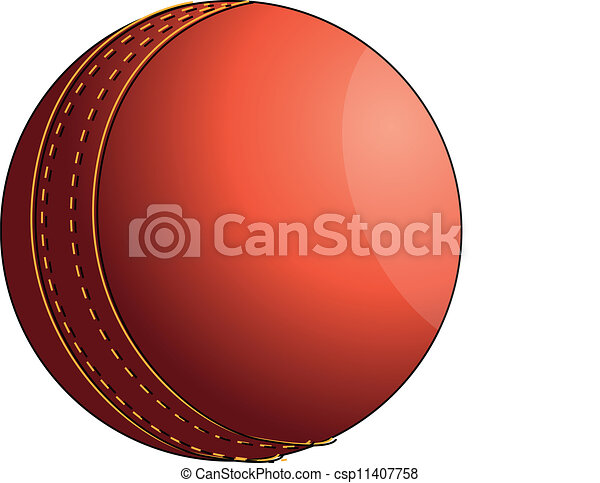 Cricket ball - csp11407758