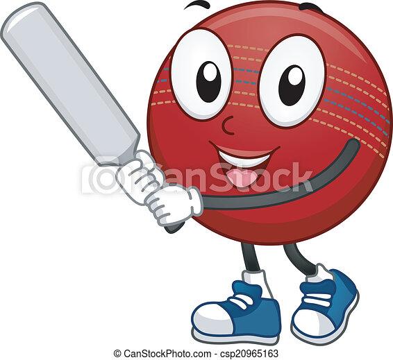 cricket ball mascot mascot illustration featuring a Water Polo Ball Outline Water Polo Ball Outline