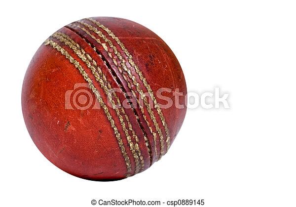 Cricket ball - csp0889145