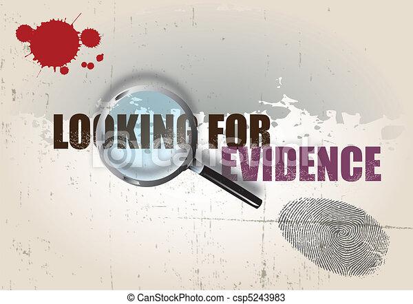 Crime Background - csp5243983