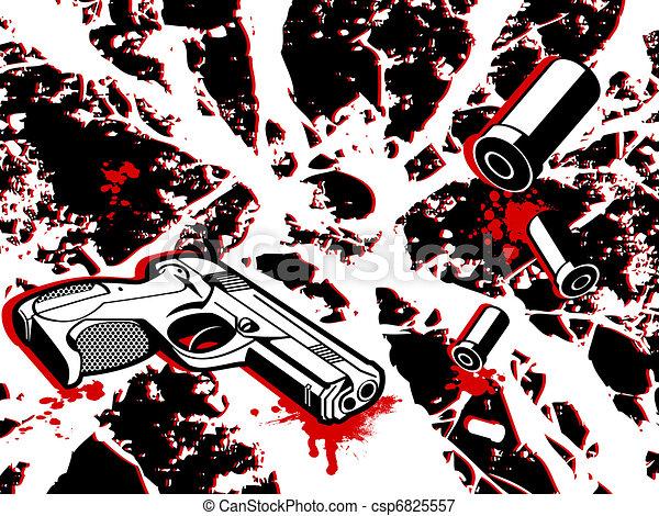 Crime city - csp6825557