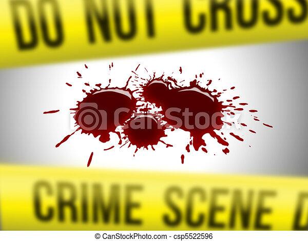 Crime scene 3 - csp5522596