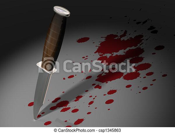 Crime scene - csp1345863