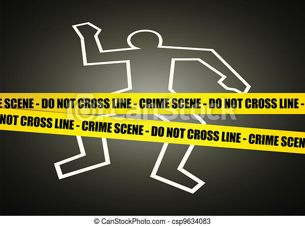 Crime Scene - csp9634083