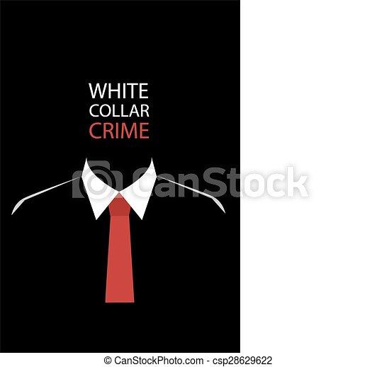Crimen de guante blanco - csp28629622