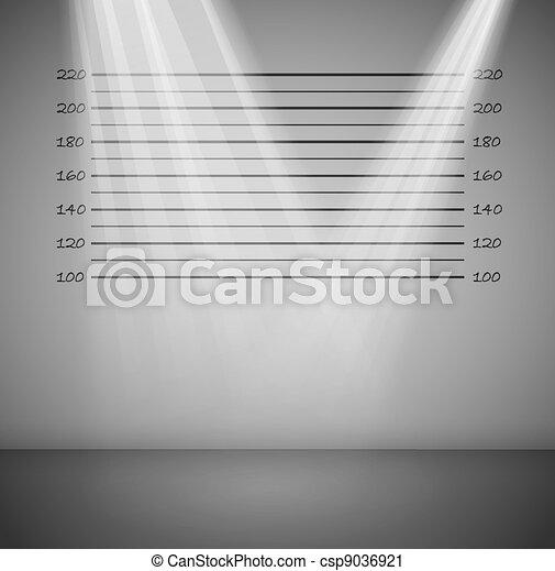 criminal, linhas, fundo - csp9036921