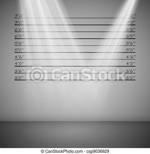 criminal, linhas, fundo - csp9036929