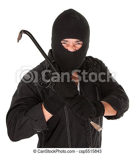criminal, mascarado - csp5515843