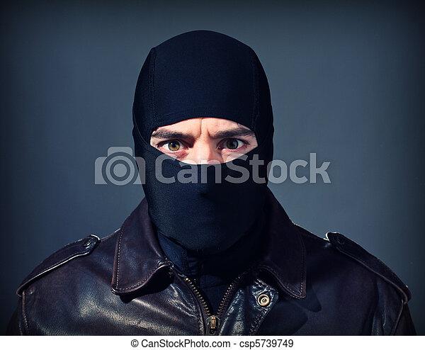 criminal portrait - csp5739749