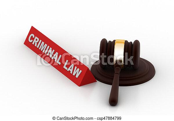 criminel, concept, droit & loi - csp47884799
