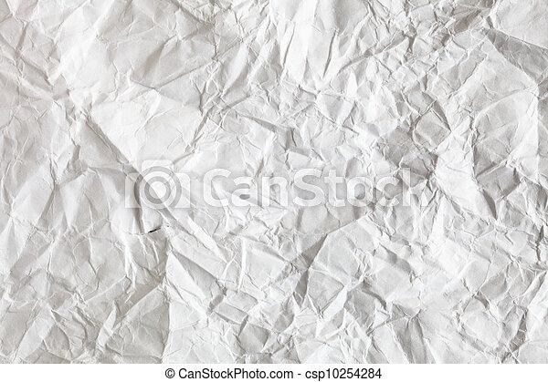 crimp White Paper texture sheet - csp10254284