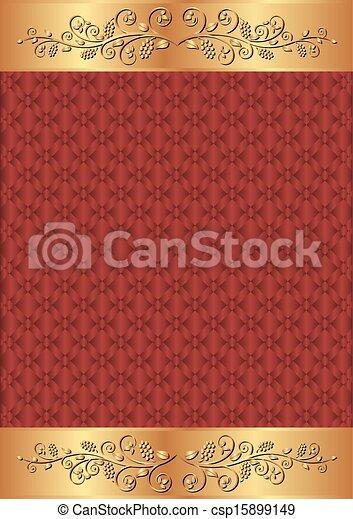 crimson background - csp15899149