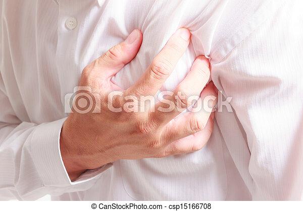 crise cardiaque - csp15166708