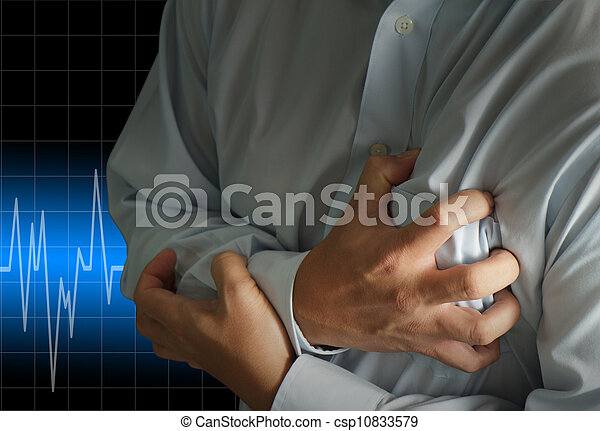 crise cardiaque - csp10833579
