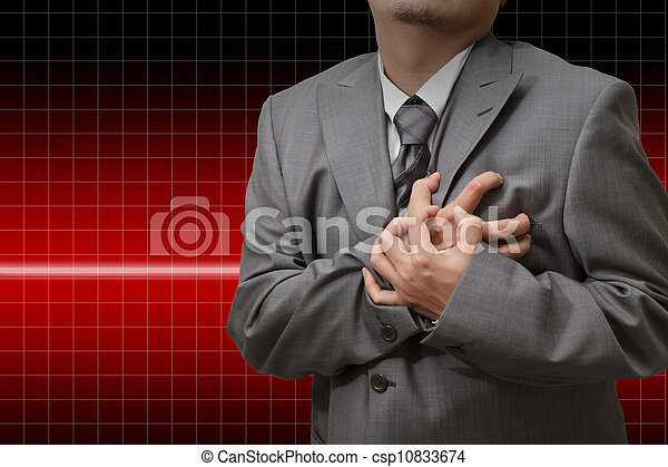 crise cardiaque - csp10833674