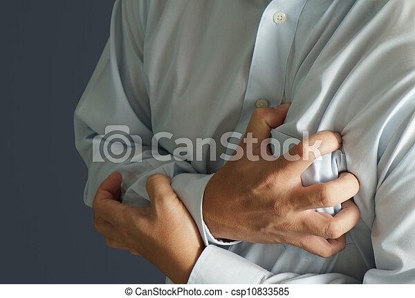 crise cardiaque - csp10833585