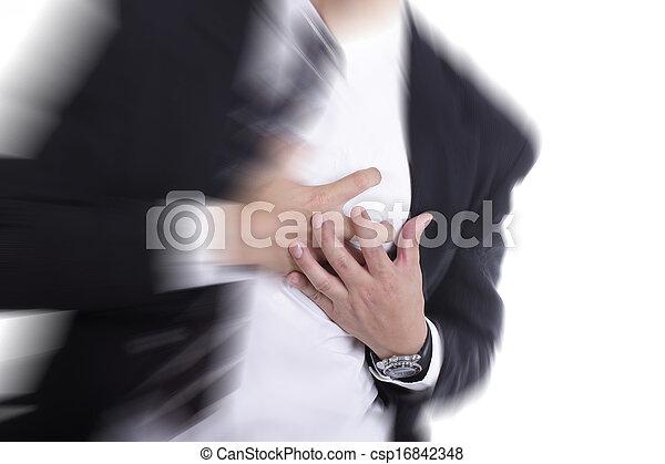 crise cardiaque - csp16842348