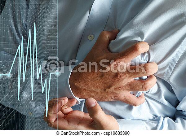 crise cardiaque - csp10833390