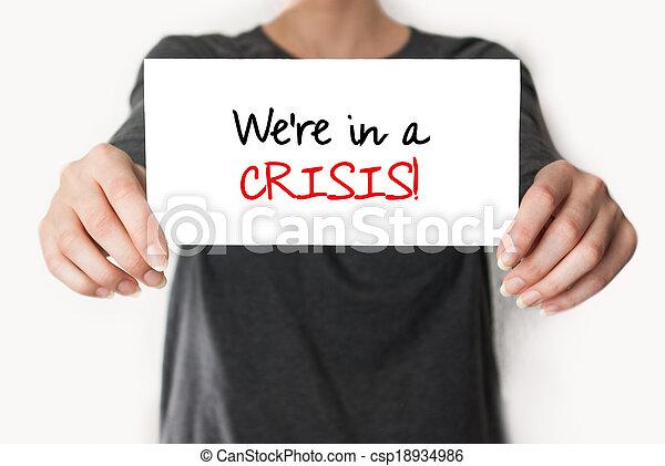 crise, we're - csp18934986