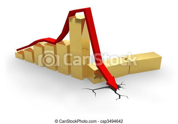 Crisis chart - csp3494642