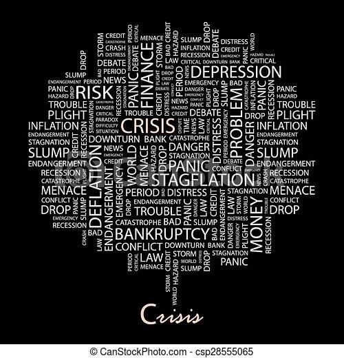 crisis. - csp28555065