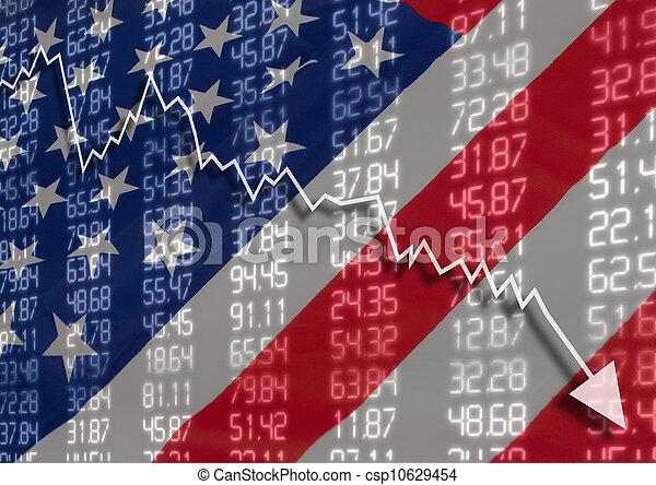 Crisis en USA - csp10629454