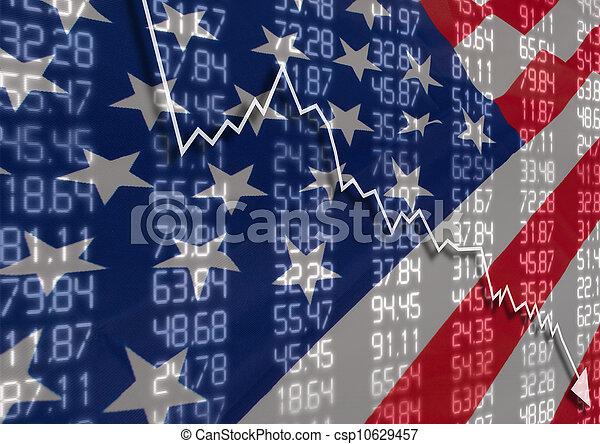 Crisis en USA - csp10629457
