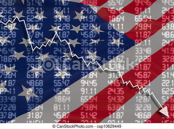 Crisis en USA - csp10629449