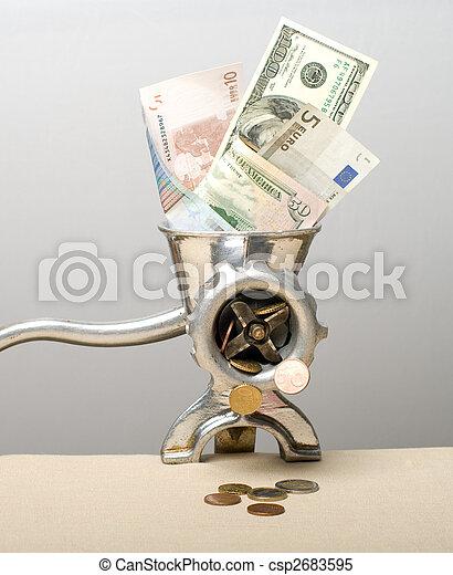 crisis., financier - csp2683595