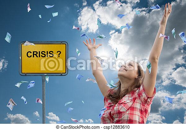 crisis? - csp12883610