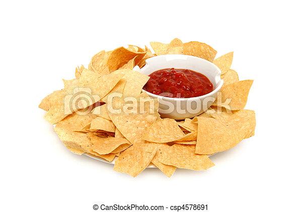 Crisp Chips - csp4578691