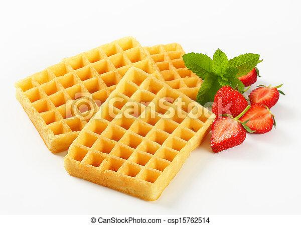 Crisp waffles - csp15762514