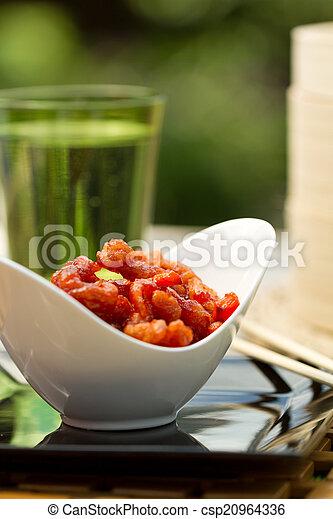 Crispy chilli beef al fresco - csp20964336