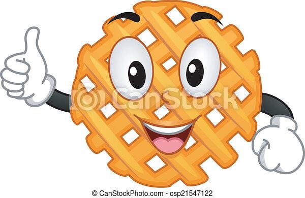 Criss Cross Cut Fry Mascot - csp21547122